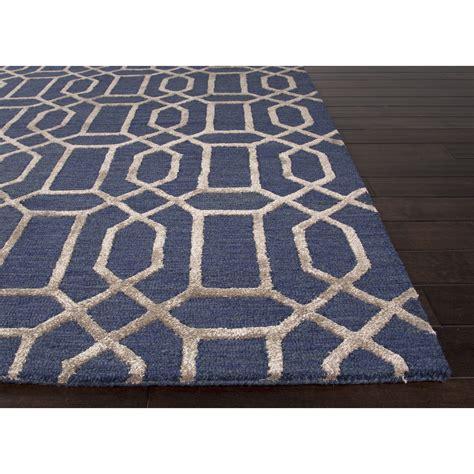 pattern blue carpet jaipur rugs modern geometric pattern blue taupe wool and