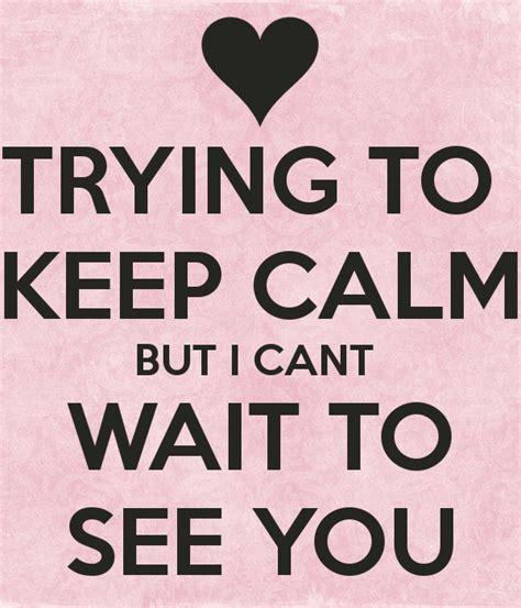 calm    wait    poster