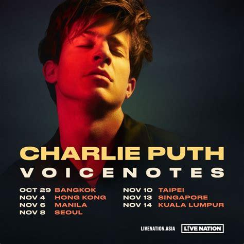 charlie puth korea concert bandsintown charlie puth tickets jamsil gym nov 08 2018