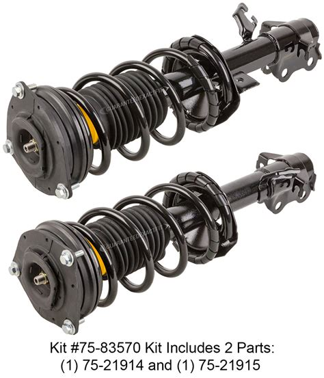 Shock Versa 2008 nissan versa shock and strut set parts from car parts