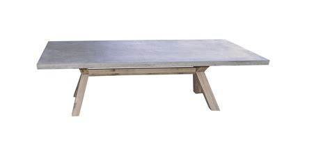 Concrete Patio Table Copenhagen Concrete Timber Outdoor Table 240cm