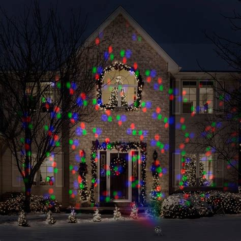 christmas projection christmas lights large format