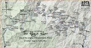 rogue river map for arta river trips