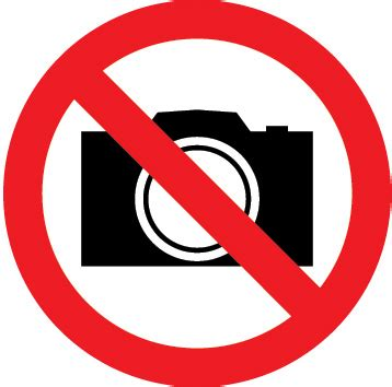 no cameras allowed sign | legal signs uk