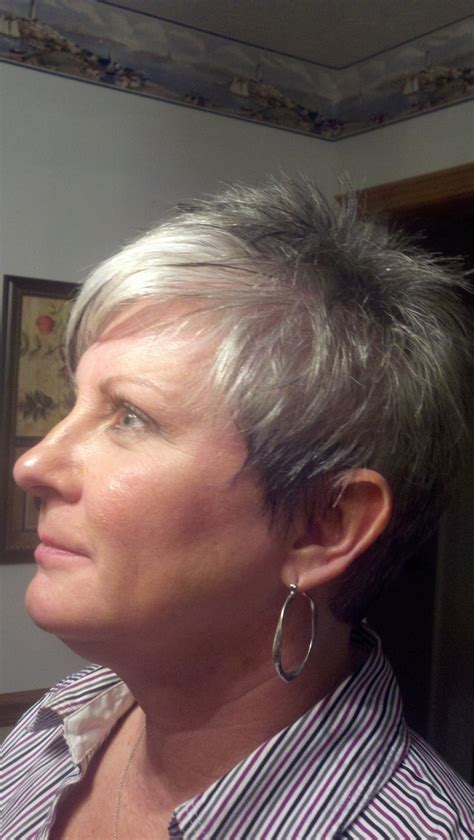 natural instincts on salt and pepper hair foiled salt and pepper hair 1000 ideas about silver