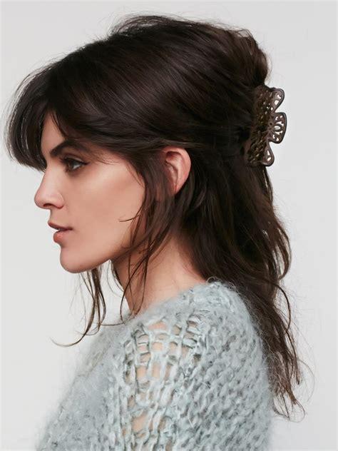 claw hair hairstyles cute claw clip hairstyles hair