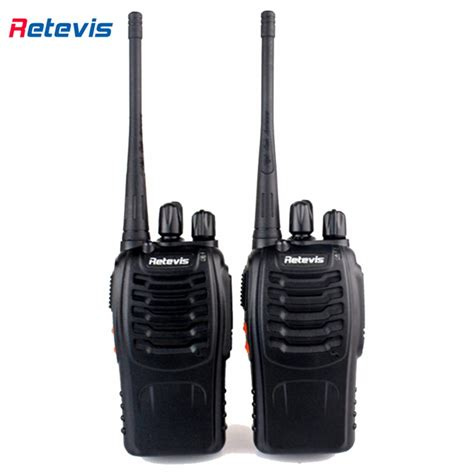 Promo Retevis Walkie Talkie 2 Way Radio 16 Channel Uhf400 470mhz 1pcs 2pcs walkie talkie retevis h777 16ch ham radio hf transceiver two way radio communicator walkie