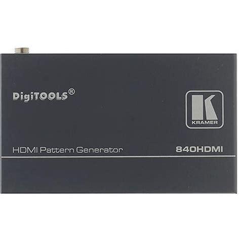 url pattern generator kramer 840hdmi hdmi pattern generator 840hdmi b h photo video