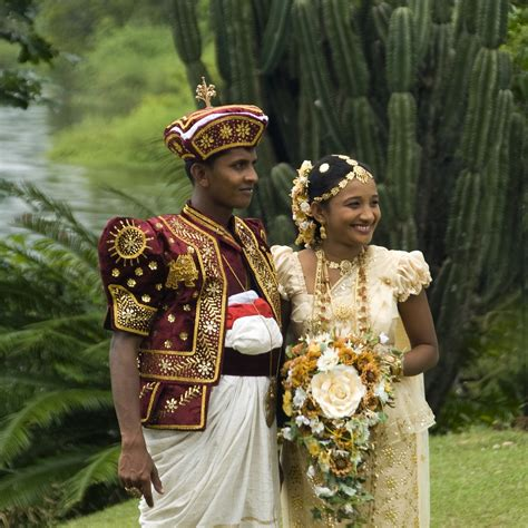 Wedding In Sri Lanka by Local Style Wedding Costumes Of Sri Lanka