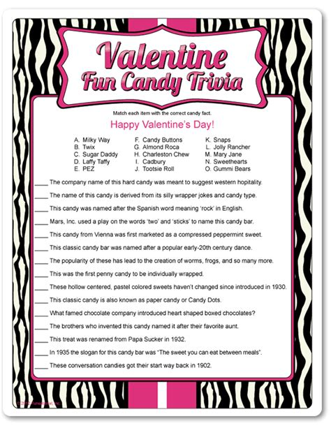 valentines day questions trivia trivia gaming and