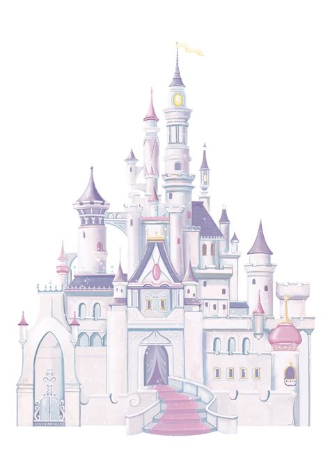 princess castle wall sticker princess castle wall decals with glitter