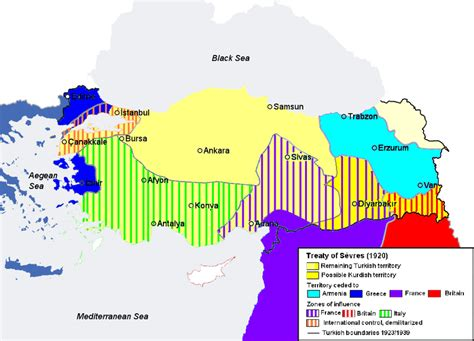 The Ottoman Empire Ww1 Partitioning Of The Ottoman Empire