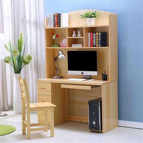 wood desktop computer desk study tables for children home