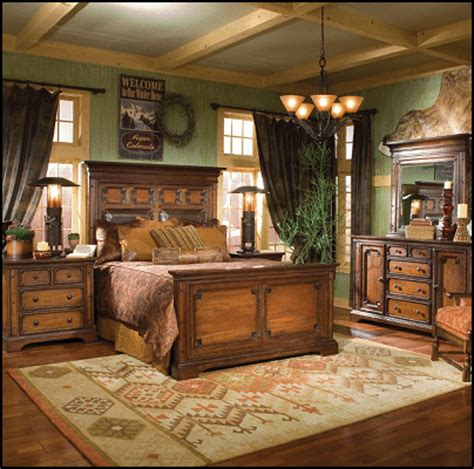 western bedrooms southwestern american indian mexican rustic style wolf theme bedrooms santa fe style