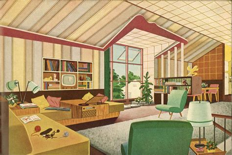 mid century interior design