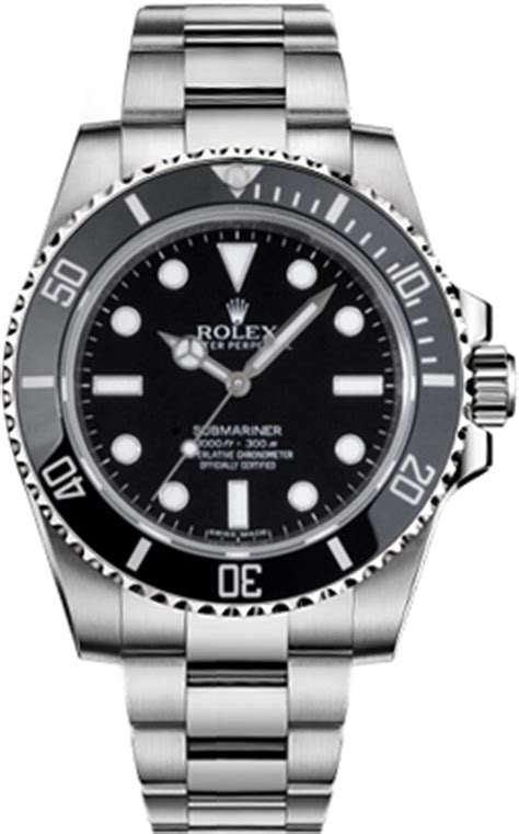 114060 Rolex Submariner Mens Automatic Watch