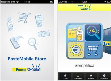 posta mobile postemobile store e 160 call center le app per iphone di