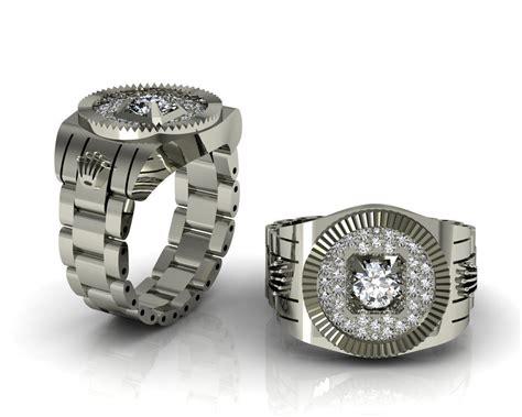 Rolex ring 3D Model 3D printable .3dm   CGTrader.com