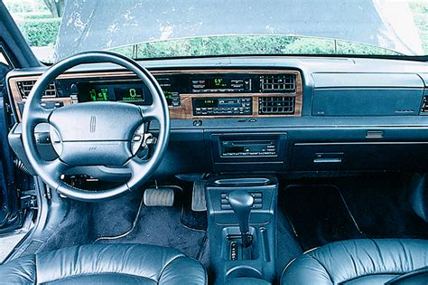 1990 94 lincoln continental consumer guide auto