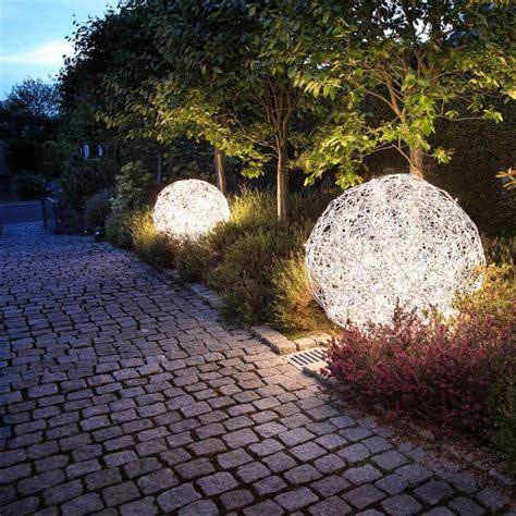 Gartenbeleuchtung Kugel Strom by Led Kugelleuchte Aluminiumgeflecht In 2 Gr 246 223 En Wohnlicht