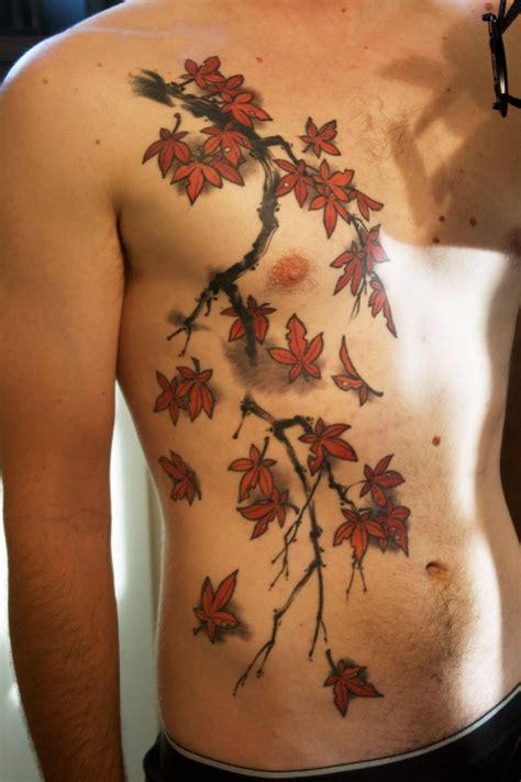 maple tree tattoo japanese maple tree branch tattoomagz