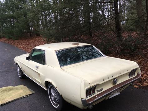 parts 1967 ford mustang fastback 2 door project for sale solid 1967 ford mustang coupe project for sale