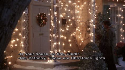 aunt bethany those are the christmas lights quotes