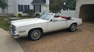 1984 Cadillac Eldorado Convertible For Sale 1984 Cadillac Eldorado Bairritz Convertible For Sale
