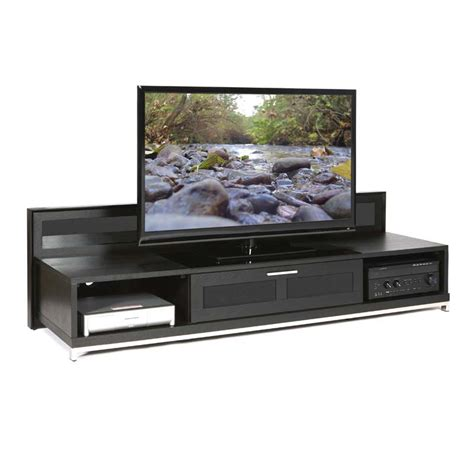 80 Inch Tv Stand by Plateau Valencia Series Backlit Modern Wood Tv Stand For