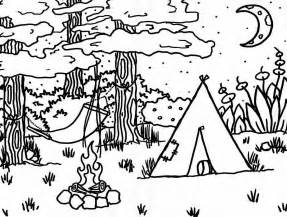 free coloring pages hiking mountain