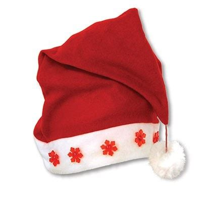 light up santa hat partycheap