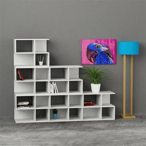 librerie da soggiorno premiere libreria da soggiorno in legno a forma di scala
