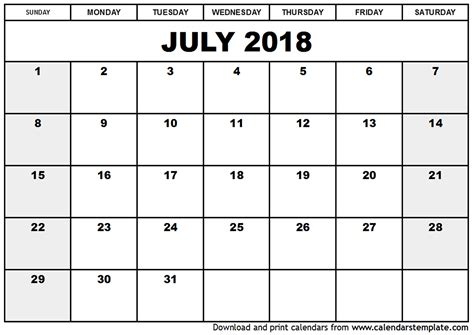 july calendar canada qualads