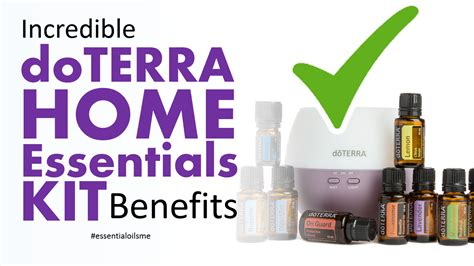 home essentials incredible doterra home essentials kit benefits