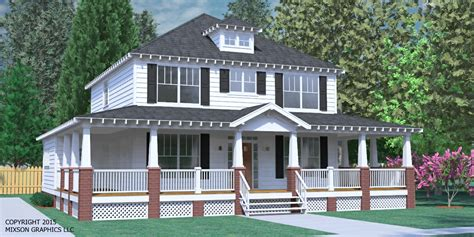 Southern Heritage Home Designs House Plan 2234 2 A The House Plans With Upstairs Porch