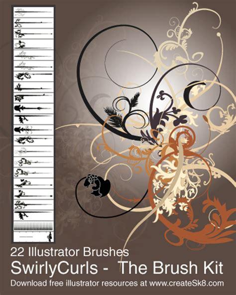 illustrator pattern brush corners 22 fantastic swirls and curls brushes for illustrator