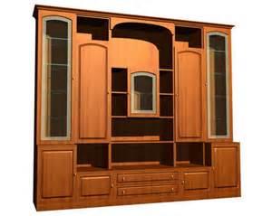 european style wood cabinet 5 free 3d model download