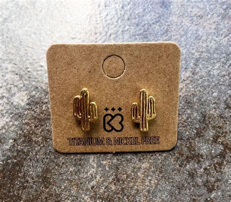 Cactus Earring cactus earrings jewelry earrings cactus