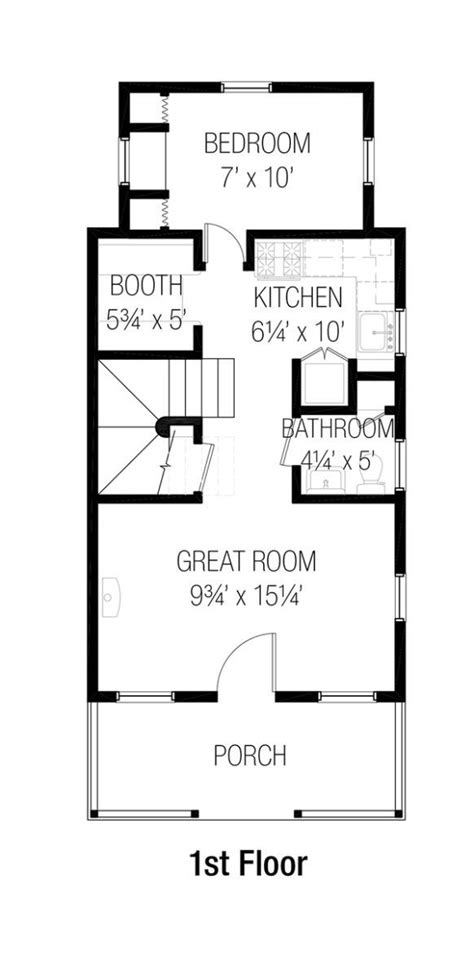 8 fantastic tiny home floor plans for families, #2 is divine