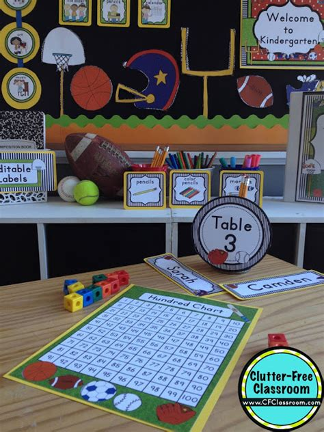 sports themed classroom decorations sports themed classroom ideas printable classroom