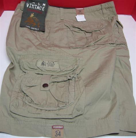 unionbay cargo shorts palm vintage desert khaki y18fg49 ebay