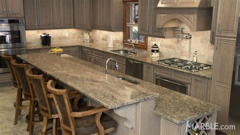 Key West Gold key west gold granite countertop bar vanity fireplace