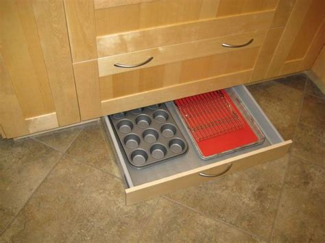 How To Install Ikea Kitchen Drawers by How To Install A Diy Toe Kick Drawer In An Ikea Kitchen Cabinet Ikea Decora