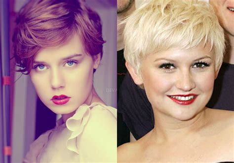 cute haircuts for fuller faces best pixie haircuts for round faces 2017 hairdrome com