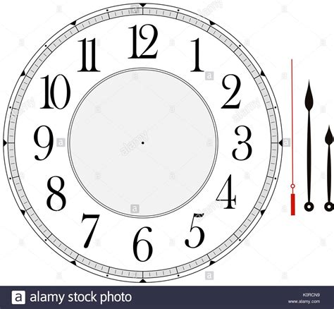 hour and minute template clock template with hour minute and second to
