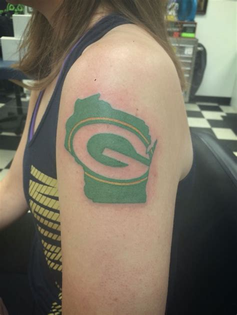 green bay packer tattoos 20 best green bay packers s images on