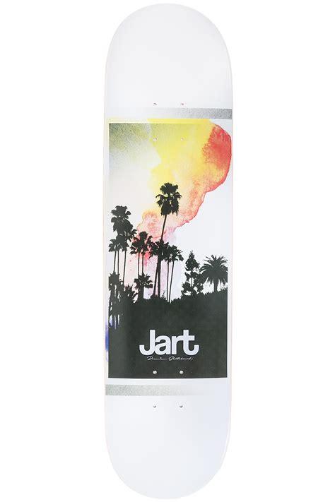skateboard tavole jart skateboards painting 8 quot tavola white fare acquisti