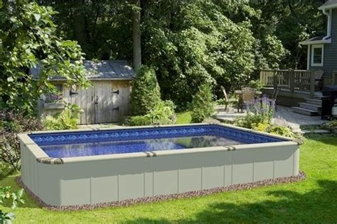 Decks With Above Ground Pools by Above Ground Swimming Pools On Clearance Ideas For The