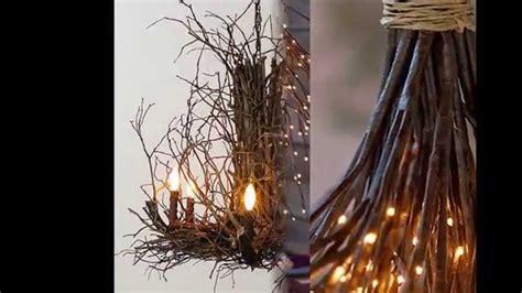 Diy Twig Chandelier Twig Chandelier By Simpleform Net
