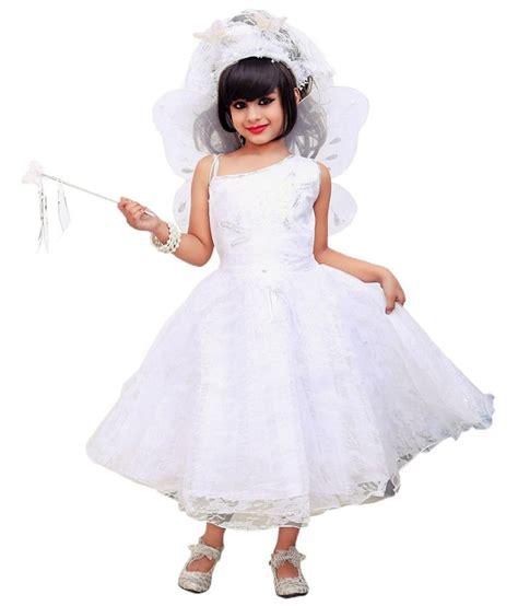 christmas frocks aarika white gown buy aarika white gown at low price